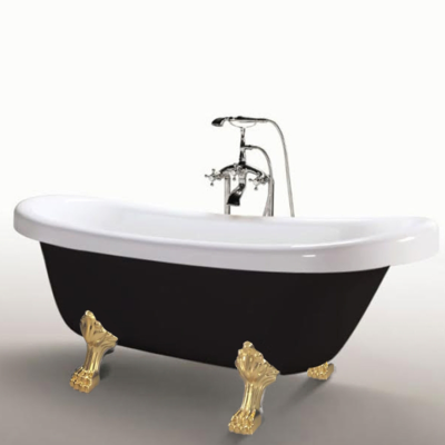 MARGHERITA BLACK MIXER-freestanding-bathtub-simbashoppingMEA